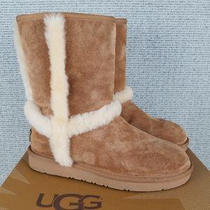 UGG Carter Chestnut Classic Short Boots Winter